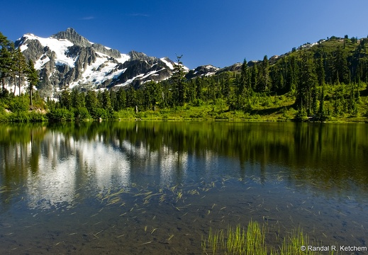 Mount Shuksan at Picture Lake #5