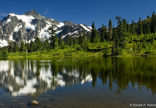Mount Shuksan at Picture Lake #6