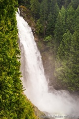 Wallace Falls, Middle Falls Isolated
