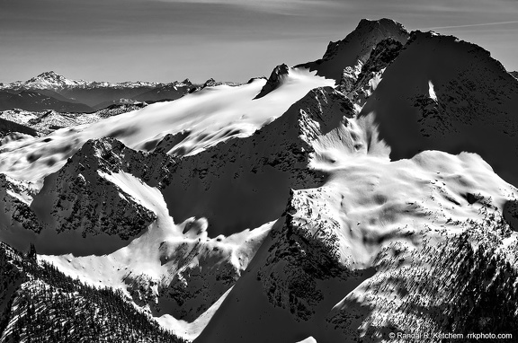 Twin Sisters, North Side, Glacier Peak