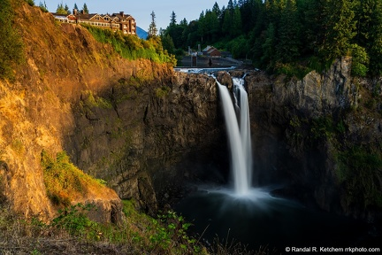 Snoqualmie Falls at Sunset #2
