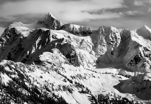 Mount Shuksan, Snowshoe on Austin Pass