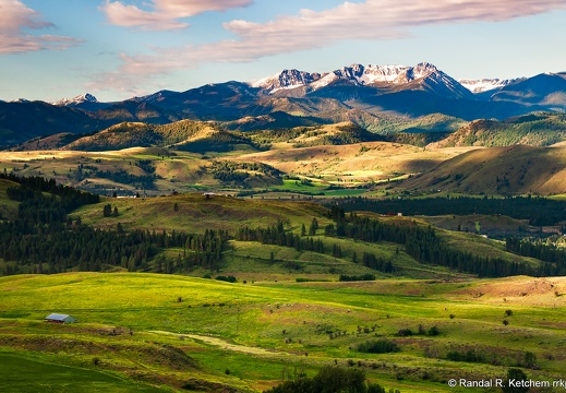 Methow Valley, Bryan Butte, Raven Ridge, Hoodoo Peak, Spirit Mountain