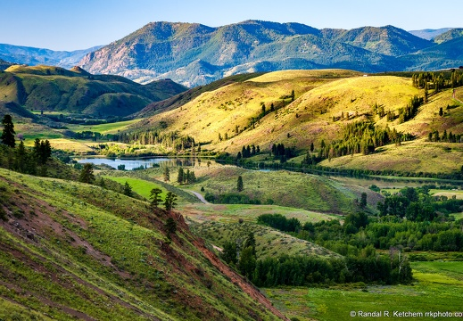 Methow Valley, Pearrygin Lake, Mcclure Mountain