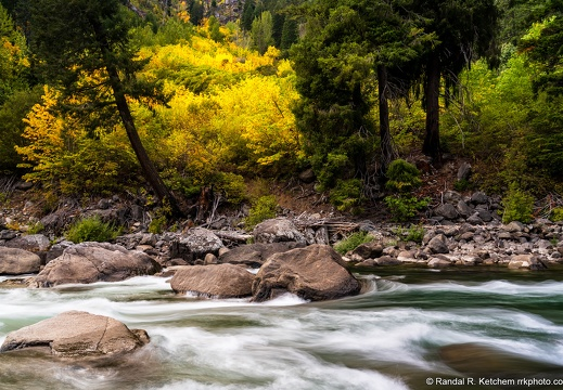 Tumwater Canyon, Fall Color, Wenatchee River