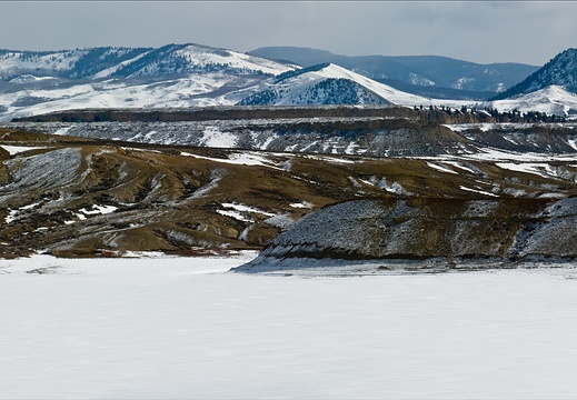 Wolford Mountain Reservoir, Colorado, Surrounding Hills