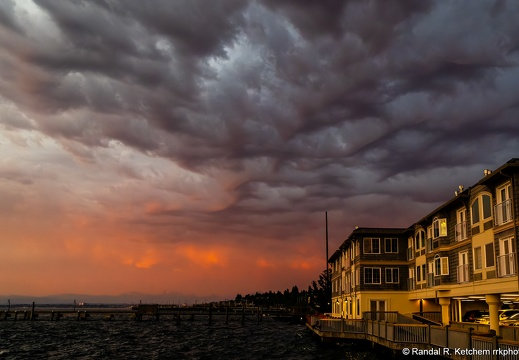Menacing Clouds, Mukilteo Beach